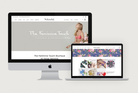 The Feminine Touch Website