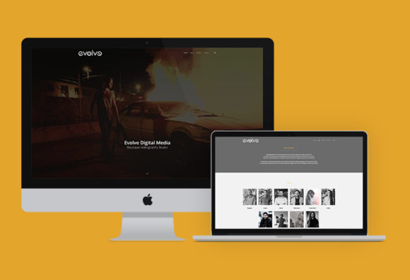 Evolve Digital Media Website