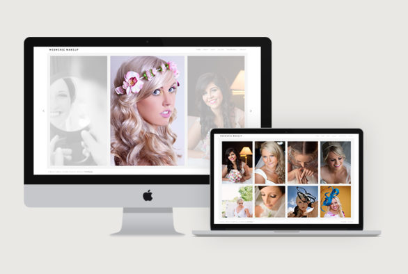 Mesmeric Make Up Website